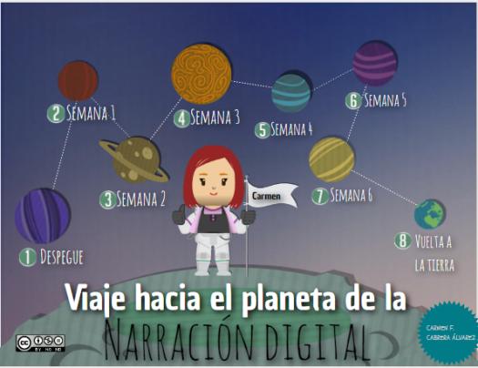 Viaje hacia el planeta de la Narración Digital